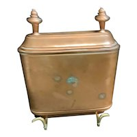 Antique Copper Toilet Tank