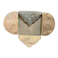 Rare Native handmade keepsake birch porcupine quill box