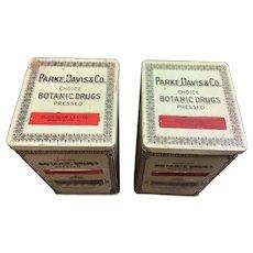 Parke, Davis & Co. Tins