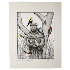 A Wing And A Prayer - Birds on Prints Signed Print by Don McMahon