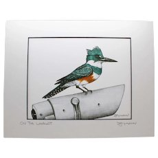 On The Lookout - Birds on Prints Signed Print by Don McMahon