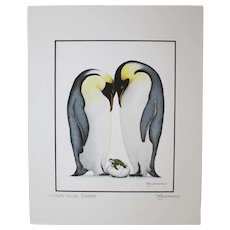 Who's Your Daddy - Birds on Prints Signed Print by Don McMahon