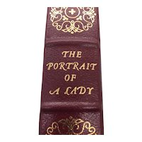 The Portrait of a Lady - Henry James - Leather Bound - Pristine