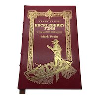 Huckleberry Finn - Mark Twain - Leather Bound - Pristine
