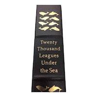 Twenty Thousand Leagues Under The Sea - Jules Verne - Leather Bound - Pristine
