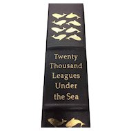 Twenty Thousand Leagues Under The Sea - Leather Bound - Pristine