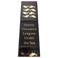 Twenty Thousand Leagues Under The Sea - Jules Verne - Leather Bound - Pristine
