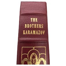 The Brothers Karmazov - Fyodor Dostoevsky - Leather Bound - Pristine