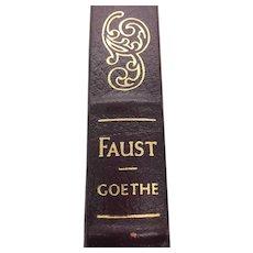 Faust - Johann Wolfgang von Goethe - Leather Bound - Pristine