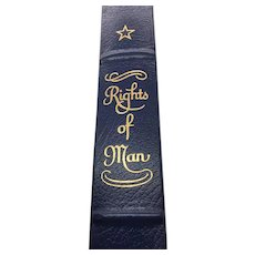 Rights of Man - Thomas Paine - Leather Bound - Pristine