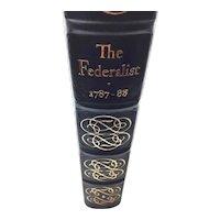The Federalist - Hamilton, Madison &  Jay - Leather Bound - Pristine