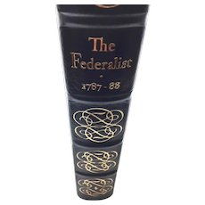 The Federalist - Hamilton, Madison &  Jay - Leather Bound - Pristine