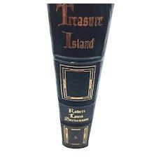Treasure Island - Robert Louis Stevenson - Leather Bound - Pristine