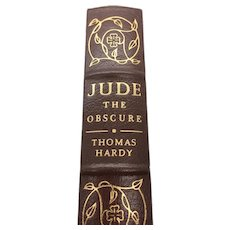 Jude The Obscure - Thomas Hardy - Leather Bound - Pristine