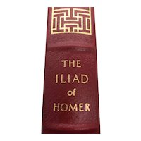 The Iliad of Homer - Translated Alexander Pope - Leather Bound - Pristine