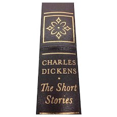 The Short Stories - Charles Dickens - Leather Bound - Pristine