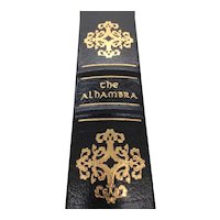 The Alhambra - Washington Irving - Leather Bound - Pristine