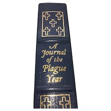 A Journal of the Plague Year - Daniel Defoe - Leather Bound - Pristine