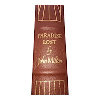 Paradise Lost - John Milton - Leather Bound - Pristine
