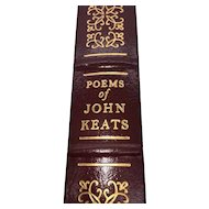 The Poems of John Keats - John Keats - Leather Bound - Pristine