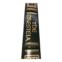 The Oresteia - Aeschylus - Leather Bound - Pristine