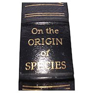 On The Origin of Species - Charles Darwin - Leather Bound - Pristine