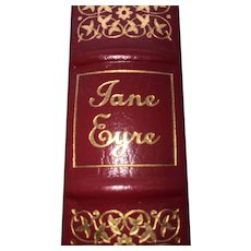Jane Eyre - Charlotte Bronte - Leather Bound - Pristine