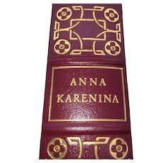 Anna Karenina - Leo Tolstoy - Leather Bound - Pristine
