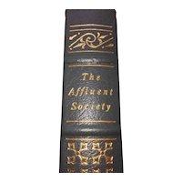 The Affluent Society - John Kenneth Galbraith - Leather Bound - Pristine