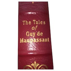 The Tales of Guy de Maupassant - Leather Bound - Pristine