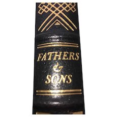 Fathers & Sons - Ivan Turgenev - Leather Bound - Pristine