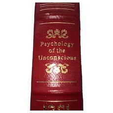 Physcology of the Unconscious - Carl G Jung - Leather Bound - Pristine