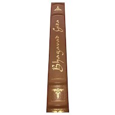 Bhagavad Gita - The Song Celestial - Leather Bound - Pristine