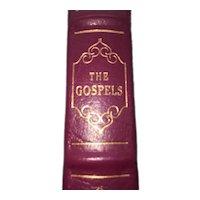 The Gospels - Leather Bound - Pristine