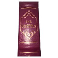 The Gospels - Leather Bound - Pristine