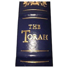 The Torah - Leather Bound - Pristine