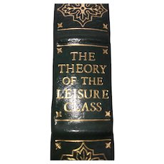 The Theory of the Leisure Class - Thorstein Veblen - Leather Bound - Pristine