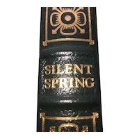 Silent Spring - Rachel Carson - Leather Bound - Pristine