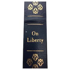 On Liberty - John Stuart Mill - Leather Bound - Pristine