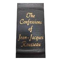 The Confessions of Jean-Jacques Rousseau Jean-Jacques Rousseau - Leather Bound - Pristine