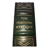 The Feminine Mystique - Betty Friedan - Leather Bound - Pristine