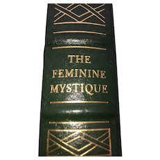 The Feminine Mystique - Betty Friedan - Leather Bound - Pristine