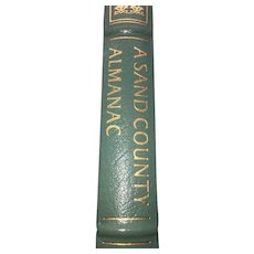 A Sand County Almanac - Aldo Leopold - Leather Bound - Pristine