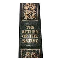 The Return of the Native - Thomas Hardy - Leather Bound - Pristine
