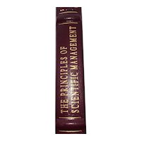 The Principles of Scientific Management - Frederick Winslow Taylor - Leather Bound - Pristine