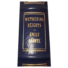 Wuthering Heights - Emily Bronte - Leather Bound - Pristine