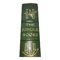 The Jungle Book - Rudyard Kipling - Leather Bound - Pristine