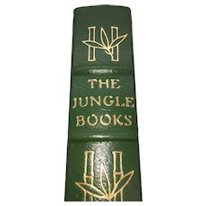 The Jungle Book - Rudyard Kipling - Leather Bound - Pristine