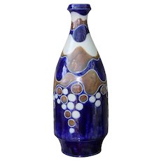 Goebel Merkelbach Salzglasur - Blue , White & Fawn Stunning Bubble Decor