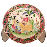 Large Yamatoku Plate with Tezuka 'テ ツ カ Mark